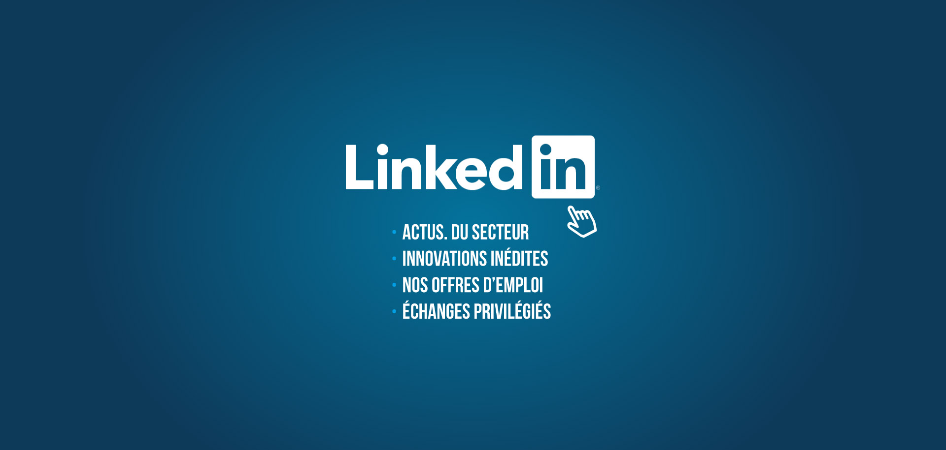 Nouvelle page LinkedIn